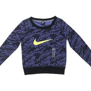 Women's Nike Crew Neck Pullover Sweatshirt